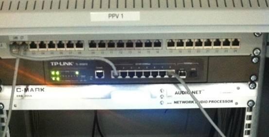 C-MARK  AUDIONET网络音频平台已经投入使用