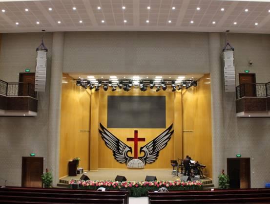 C-MARK专业音响助阵温州丽岙辛田教堂