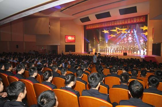 C-MARK数字音频助力深圳公安局2013年新警入警仪式