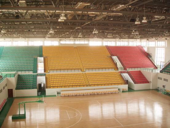 非洲马里共和国国家篮球馆内景