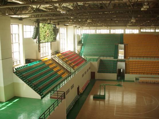 C-MARK数字网络音频系统应用于非洲马里共和国国家篮球馆