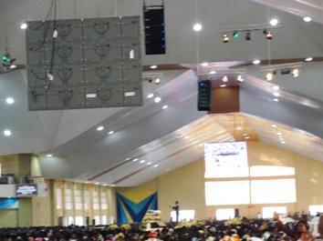 尼日利亚Living Faith Church Goshen Abuja Nigeria教堂