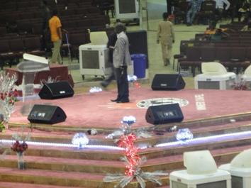 C-MARK FT系列有源音箱广泛应用于尼日利亚教堂