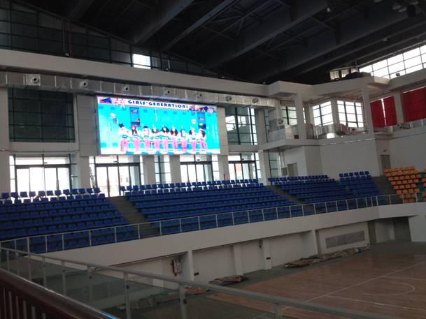 石龙中学体育馆工程是东莞市重点工程项目之一