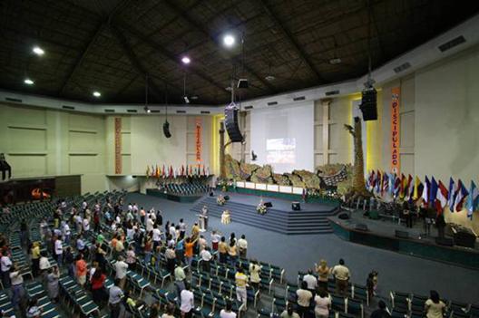 C-MARK音响运用于哥伦比亚教堂